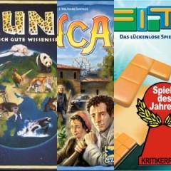 Spiel des Jahres 2009: Nominados, premios especiales y menciones de honor