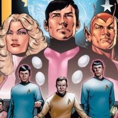 'Star Trek' y 'La Legión de Superhéroes', el último crossover de IDW  [SDCCI 2011]