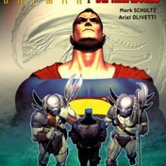 'Superman y Batman contra Aliens y Depredadores', sólo Olivetti salva el pellejo