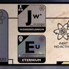 Tablas periódicas de series y cine de ciencia ficción [Frikada de la Semana]