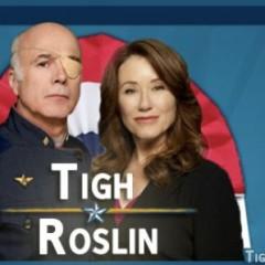 Vota por Saul Tigh y Laura Roslin