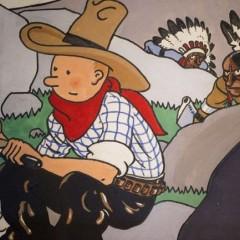 La portada original de 'Tintín en América' se vende por 1.3 millones