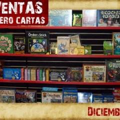 Análisis de lo más vendido en rol, tablero y cartas en Diciembre de 2008