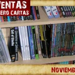 Análisis de lo más vendido en rol, tablero y cartas en Noviembre de 2008