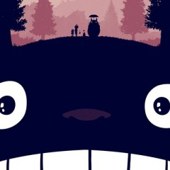 Mi Vecino Totoro, pósters de Olly Moss del clásico de Miyazaki