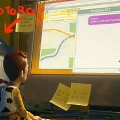 Huevos de pascua de 'Toy Story 3', desde Totoro a Tin Toy