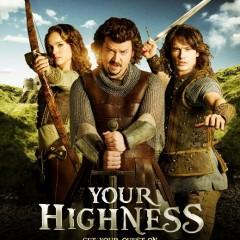 'Your Highness', fantasía medieval y comedia, curiosa combinación