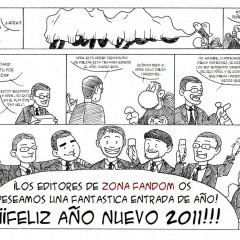 ¡La redacción de Zona Fandom le desea un Feliz Año Nuevo a todos los frikis de buena voluntad!