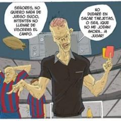 'Al tercer día', de Enric Rebollo, nos muestra un Madrid-Barça versión zombi