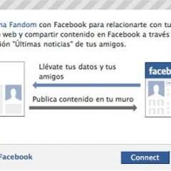 Conéctate a Zonafandom con tu cuenta de Facebook