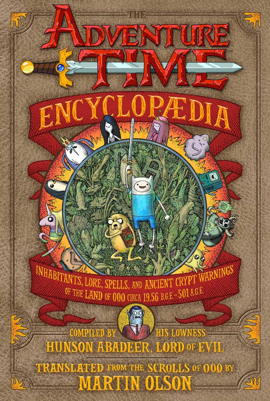 Adventure-Time-Encyclopaedia-portada-completa