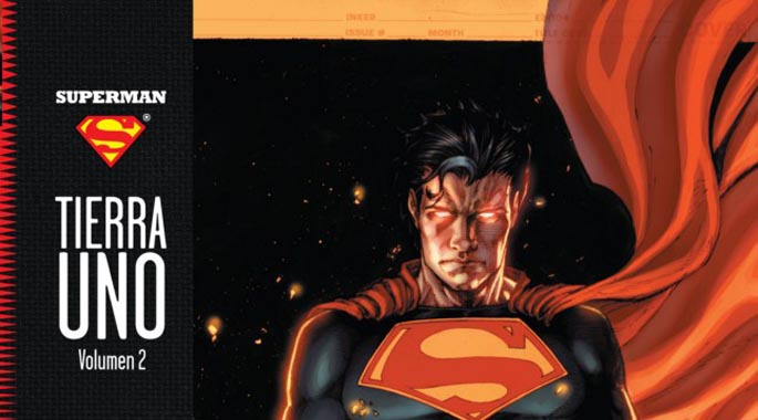 Superman Tierra 1 Portada