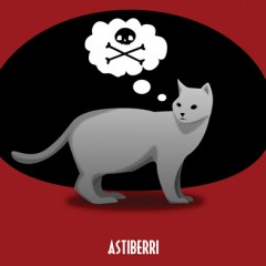 'Cómo saber si tu gato planea matarte', humorada felina