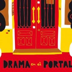 'Drama en el portal', humor de escalera