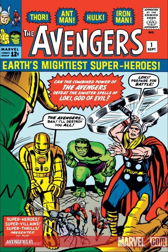 Portada del Avengers #1
