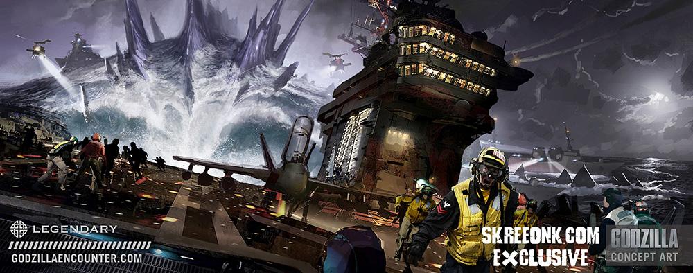Godzilla Concept Art
