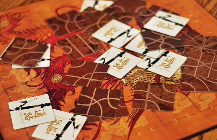 Tsuro, el juego del camino