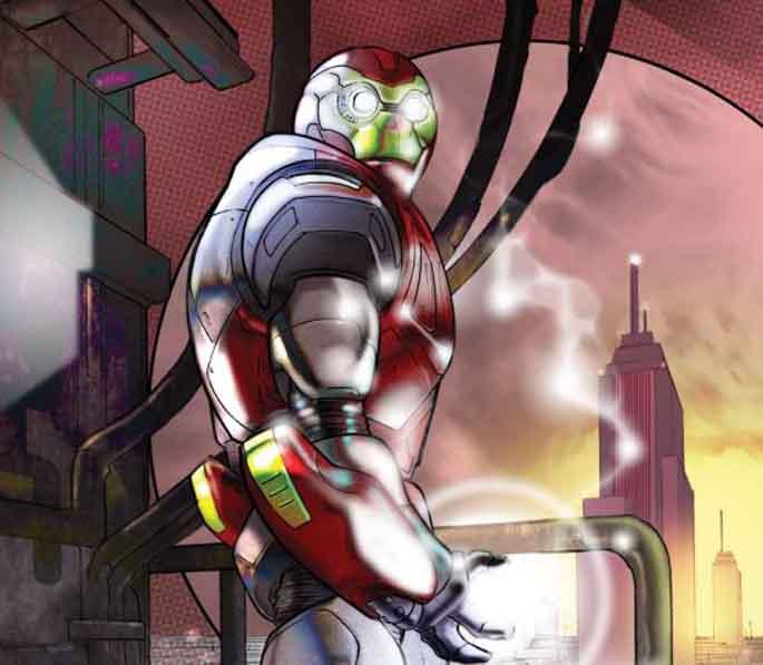 Iron Man Pagina