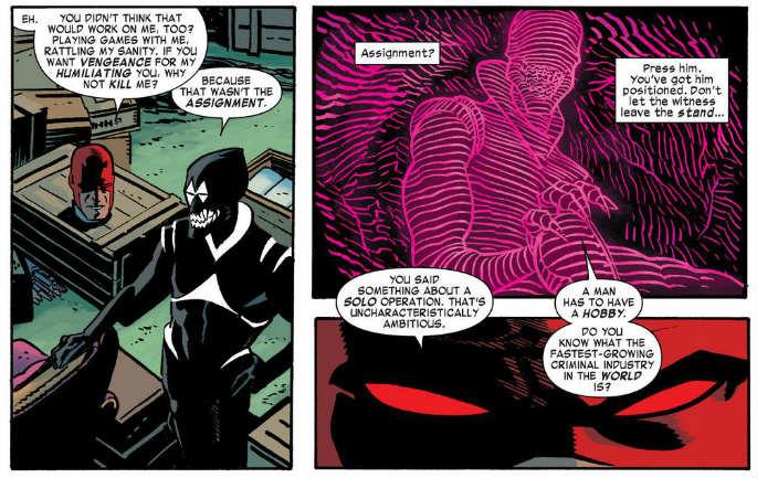 Daredevil vol.3 interior