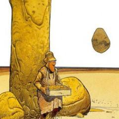 'Métal Hurlant. Moebius: el empalmado loco', humor fálico