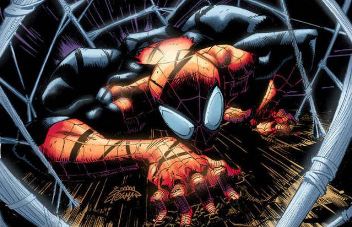 Spiderman superior portada