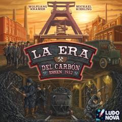 La Era del Carbón y Asante, Ludonova presenta sus novedades para el festival de juegos de mesa de Córdoba