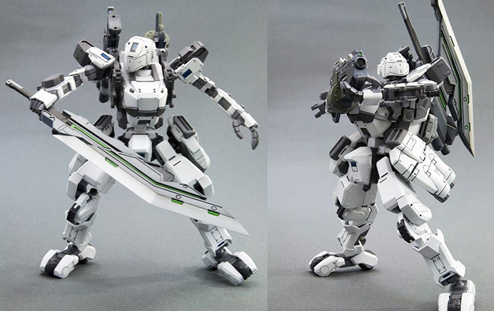 Border Break model kit