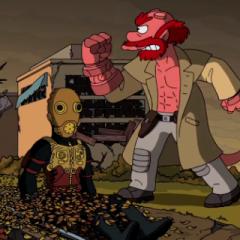 Guillermo del Toro se desata en una intro para Los Simpsons