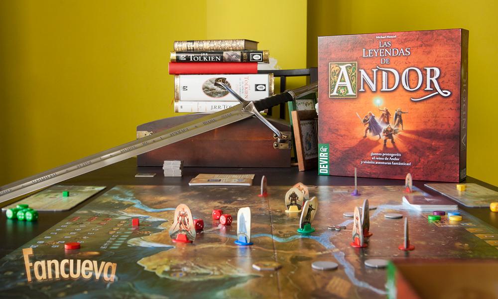 Las Leyendas de Andor (Die Legenden von Andor)