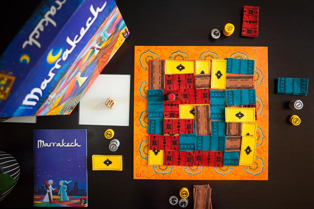 Marrakech juego de mesa