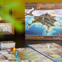 Náufragos, el Robinson Crusoe de los juegos de mesa narrativos