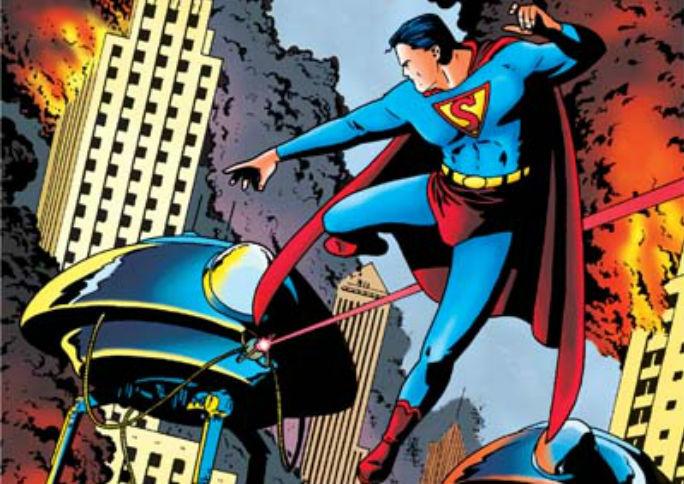 Superman La Guerra de los Mundos portada