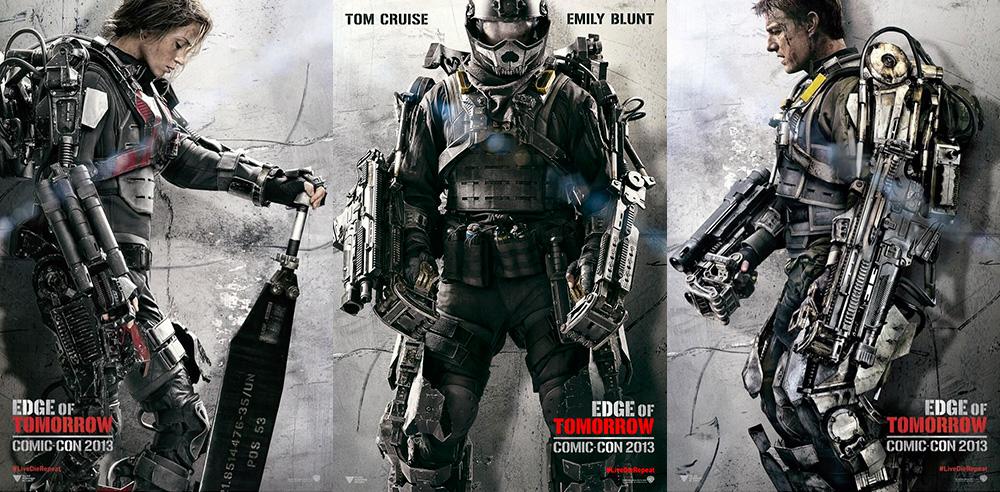 Edge of Tomorrow posters