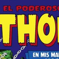 'Marvel Gold El Poderoso Thor: En mis manos…¡este martillo!', por el poder de Asgard