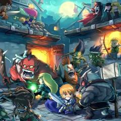 Arcadia Quest, mazmorreo chibi para los fans de Super Dungeon Explore [Ya disponible en Kickstarter]
