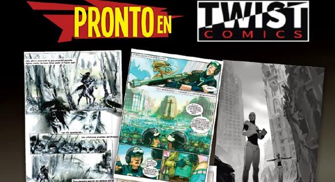 twist comics