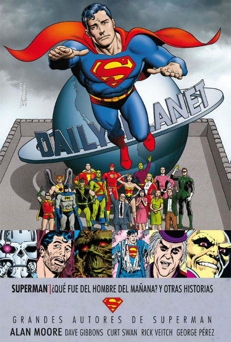 Superman Alan Moore portada