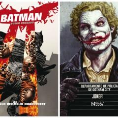 'Batman: Fuego cruzado' y 'Joker', Azzarello y Bermejo por partida doble