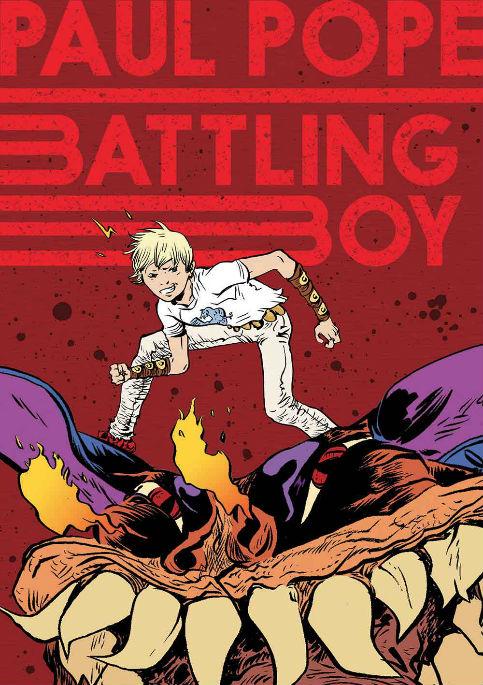 Battling Boy portada