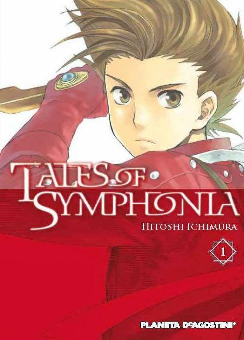 Tales of Symphonia portada