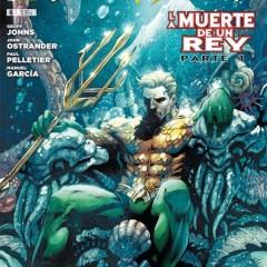 'Aquaman vol.6: La muerte de un rey', punto y seguido en la sucesión al trono de Atlantis