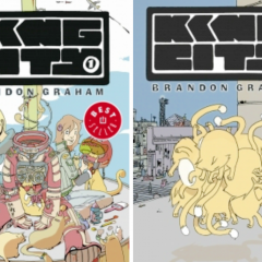 'King City vols 1 y 2', originalidad a cascoporro