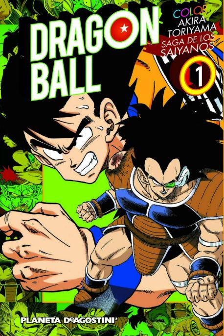 Dragonball color portada