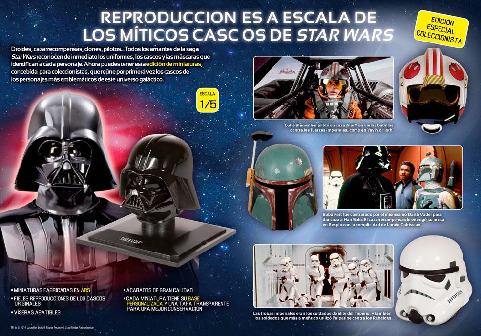 Star Wars Cascos de Colección
