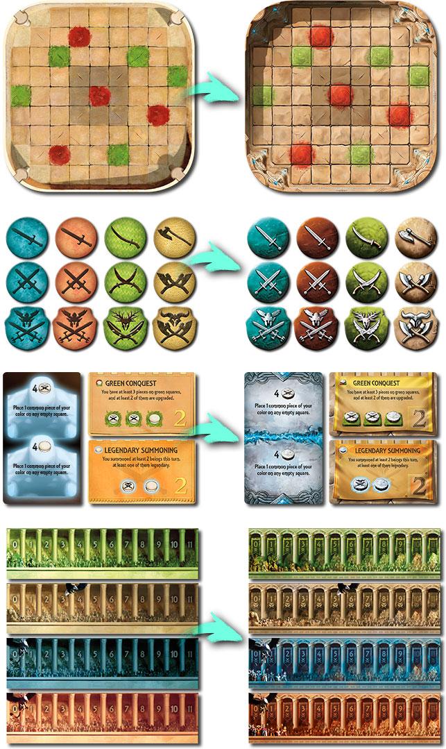 Cambios de la edición mejorada de Tash-Kalar: Arena of Legends