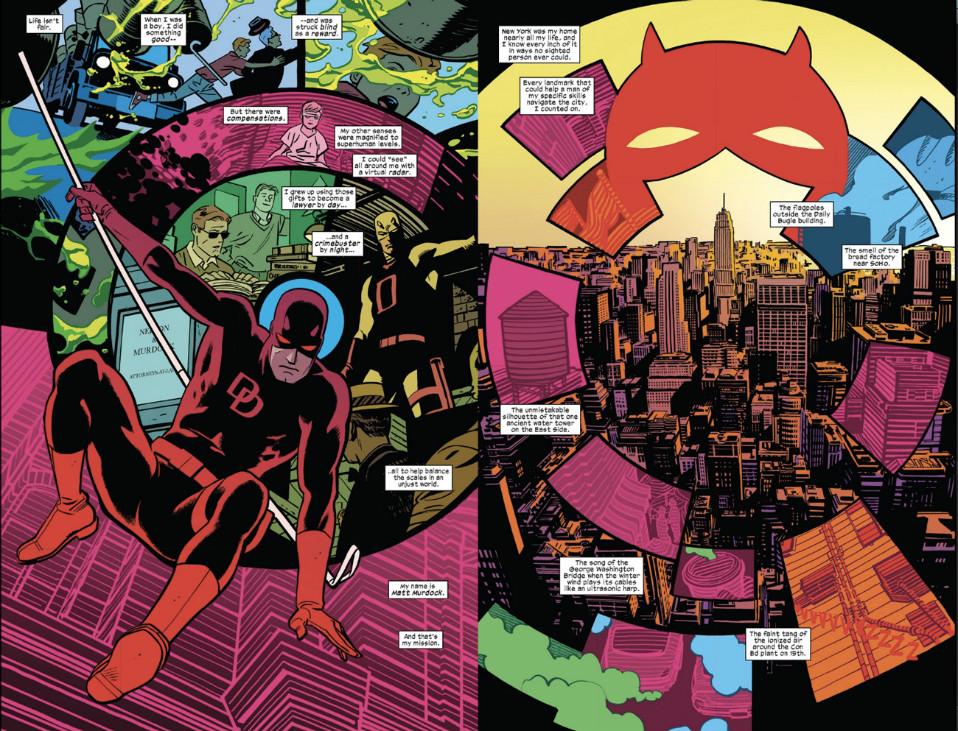 Daredevil vol.6 interior
