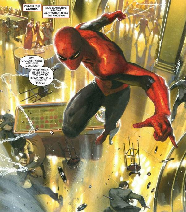 Spiderman Valores familiares interior