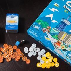 Ciudad Machi Koro, un punto de partida genial para engancharse a los nuevos juegos de mesa