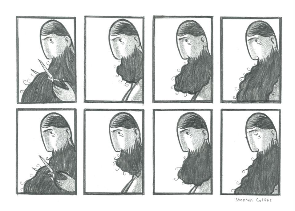 La gigantesca barba que era el mal