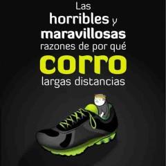 'Las horribles y maravillosas razones de por qué corro largas distancias', cronómetro en mano